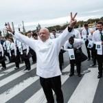 Badoit Express et Thierry Marx transforment la rue de Rivoli en rue Gastronomique !