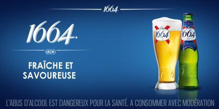1664 bière kronenbourg