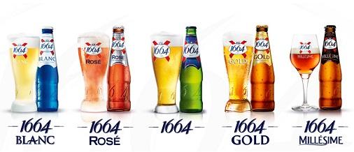 gamme bière 1664 kronenbourg