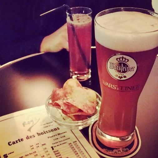 bière warsteiner roy's pub restaurant paris