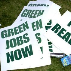 Green jobs now !