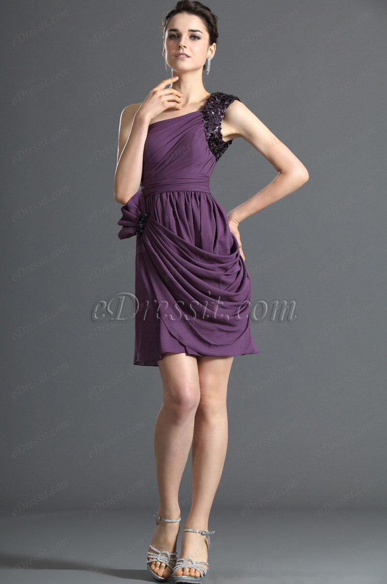 Large Of Purple Cocktail Dresses