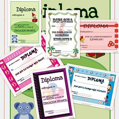 Pictures Recursos educativos: Diplomas para niños y para los alumnos