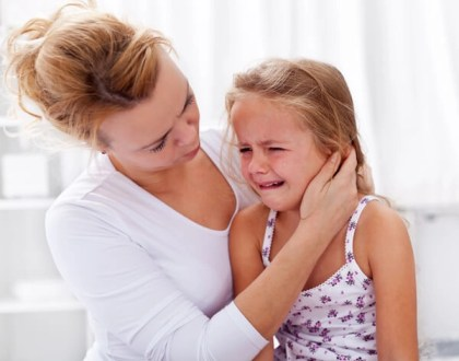niña llorando El apego. Los padres son figuras determinantes en el proceso de socialización del niño