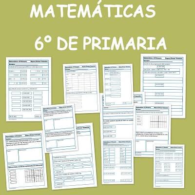Ejercicios de matem ticas para sexto de primaria for Ecuaciones de cuarto grado