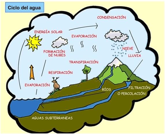 La misión azul: El ciclo del agua -