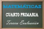Matemáticas Cuarto Primaria 3