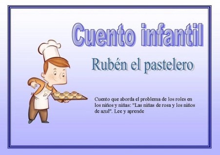 Cuentos para niños: Rubén el pastelero