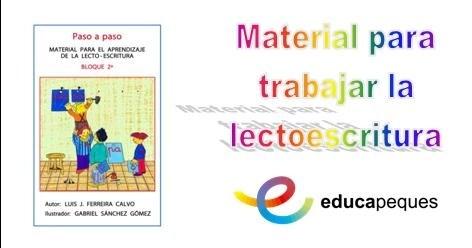 fichas para el aprendizaje de la lectoescritura: