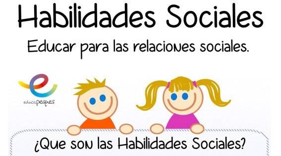 Infografía: Habilidades sociales en los niños