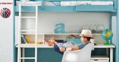 Ideas para crear un estudio en el dormitorio juvenil