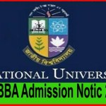 National University Honors Admission Test Notice