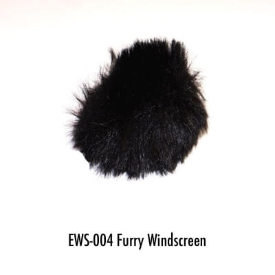 EWS-004 furry windscreen black