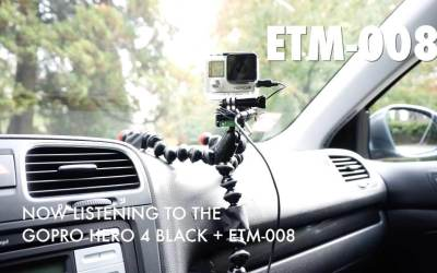 Best External GoPro Microphone for Driving Videos