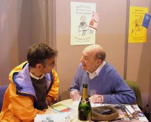 Maurice Pons at the Paris Salon du Livre