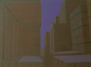 Heap, 2008, acrylic on canvas, 110x150 cm