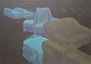 The living, 2007, acrylic on canvas, 200x150 cm