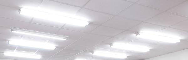 overhead office lighting. in the u201coldu201d days of exclusive working with paper recommended lighting levels were as high 1000 luxs 1 lux u003d lumensq meter overhead office e
