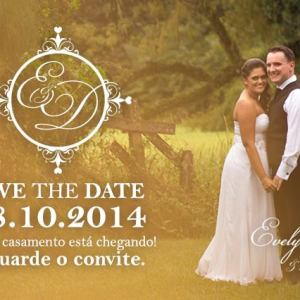 Save the Date Evelyn & Diego
