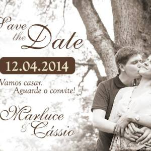 Save the Date Marluce & Cássio