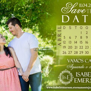Save the Date Isabel & Emerson