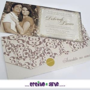 Convite Veneza | Deborah & Lucas