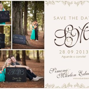 Save The Date Simone & Eduardo