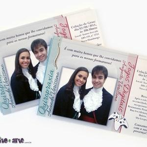 Convite 10x15cm em papel fotográfico| Quiropraxia