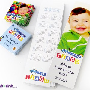 Marcadores de página 5x18cm + tag 5x5cm com furo | Brinquedos
