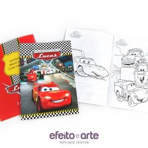 Livro de colorir | Carros