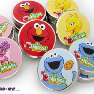 Latinhas metálicas | Sesame Street