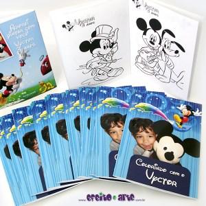 Livrinho de colorir 10x14cm | Mickey