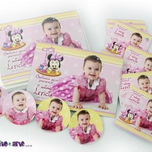 Ímãs + rótulos diversos | Baby Minnie