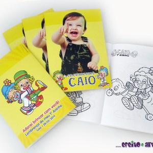 Livrinho de colorir 10x14cm | Patati Patatá