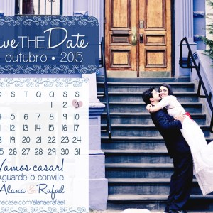 Save the Date Alana & Rafael