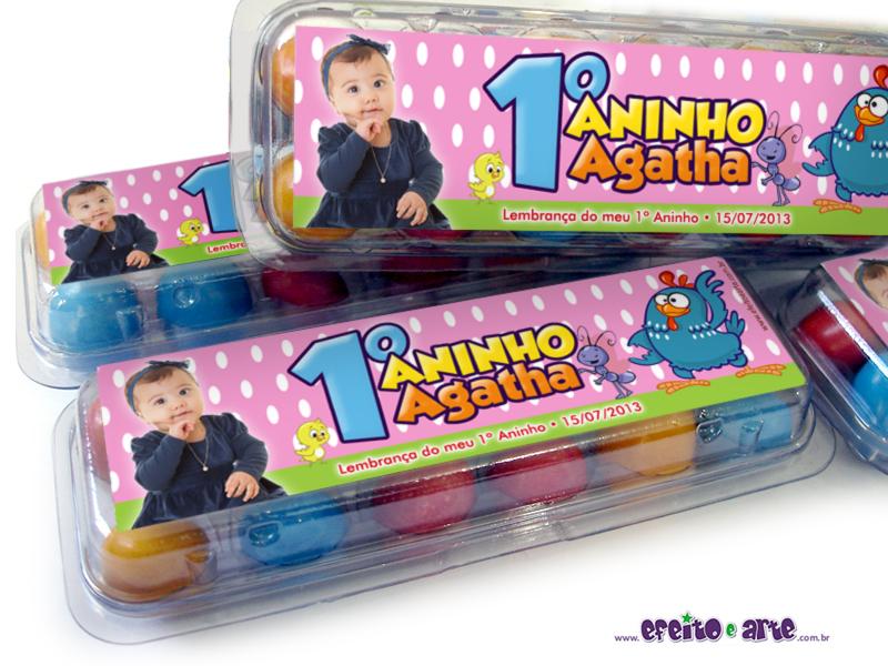 1º Aninho Agatha