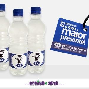 Rótulos para água mineral