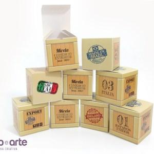 Cubos de Mesa tamanho 10x10x10cm