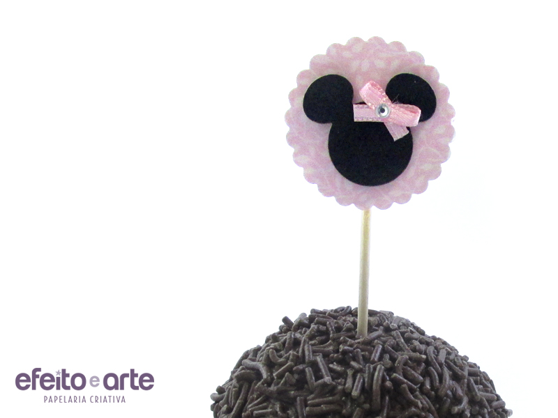 5 Toppers Minnie 3D
