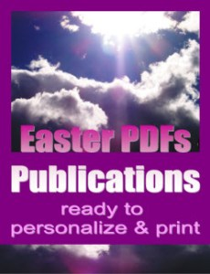 Book Cover For Easter PDFs