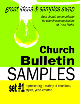 Church SAMPLES Book