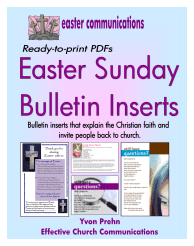 Book Club Easter About Church & Questions PDF Cover