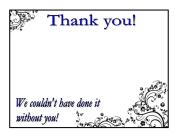 Thank you cards spot color #2 - Copy