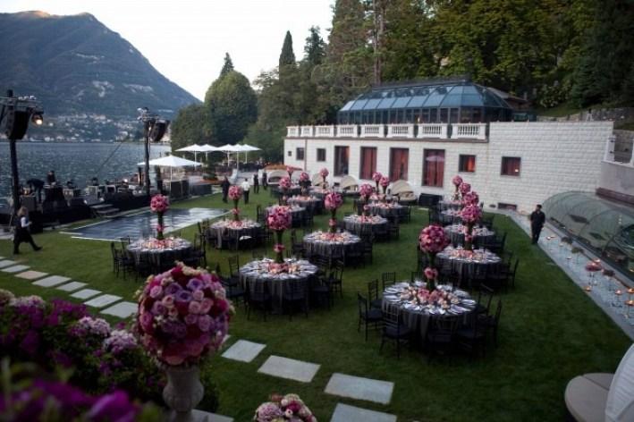 Wedding Setup Lake Como Wedding