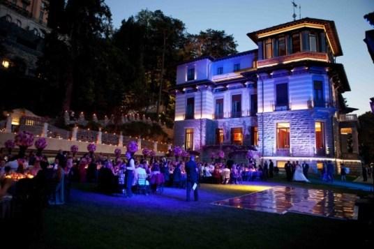 Lake Como Resort Wedding
