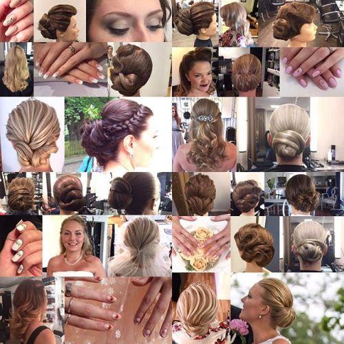 Bröllops säsongen har äntligen dragit igång och josefin hjälper gärna till med hår, makeup och naglar!