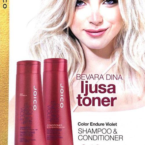 Titta hit alla blondiner!Superpris när du köper Color Endure Violet eller Blond Life schampoo + balsam! ♀️️🏼♀️