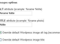 SEO friendly images for WordPress Plugin