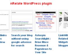 nRelate Plugin for blog