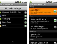 Advanced Task Killer for Android